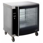 Alto Shaam AR-7H-SGLPANE 1/2 Height Insulated Mobile Heated Cabinet w/ (8) Pan Capacity, 208v/1ph