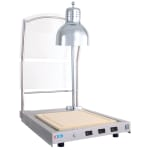 Alto Shaam CS-100/S Carving Station w/ Cutting Board & Lamp