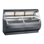 """Alto Shaam ED2SYS-72/2S-SS 2081 2 Tier Display Case w/ European Base, 72"""", Self, Export"""