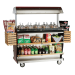 """Alto Shaam ITM2-48/DLX 2301 Deluxe Island Hot Food Takeout Merchandiser, 67"""" W, Export"""