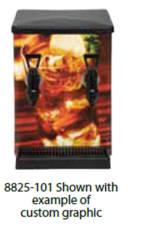 Bloomfield 8825-101 Low-Profile Iced Tea Dispenser - Two Valve