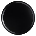 "Cambro 1000110 10"" Round Serving Camtray - Black"