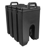 Cambro 1000LCD110 11.75 gal Camtainer Beverage Carrier - Insulated, Black