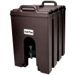 Cambro 1000LCD131 10 gal Camtainer Beverage Carrier - Insulated, Dark Brown
