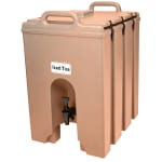 Cambro 1000LCD157 10 gal Camtainer Beverage Carrier - Insulated, Beige