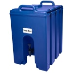 Cambro 1000LCD186 10 gal Camtainer Beverage Carrier - Insulated, Navy Blue