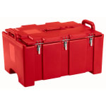 "Cambro 100MPC158 Camcarriers® Insulated Food Pan Carrier - 18x26.75x15"" Hot Red"