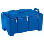 "Cambro 100MPC186 Camcarriers® Insulated Food Pan Carrier - 18x26.75x15"" Navy Blue"