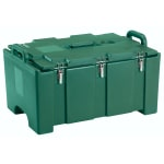 "Cambro 100MPC519 Camcarriers® Insulated Food Pan Carrier - 18x26.75x15"" Green"