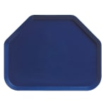 "Cambro 1418TR123 Trapezoid Camtray - 14x18"" Amazon Blue"