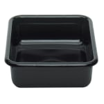 "Cambro 1520CBPF110 Cambox Bus Box - 15-5/16x20x5"" Flat Bottom, Black"