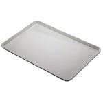 """Cambro 1826CL676 Rectangular Camlite Tray - 18x25-3/4"""" Steel White"""