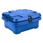 Cambro 240MPC186 Camcarrier Food Pan Carrier - (1)Half Size Pan, Navy Blue