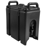 Cambro 250LCD110 2-1/2-gal Camtainer Beverage Carrier - Insulated, Black