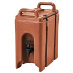 Cambro 250LCD402 2 1/2 gal Camtainer Beverage Carrier - Insulated, Brick Red