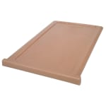 "Cambro 300DIV157 ThermoBarrier Insulated Shelf - 20 3/16x13x1"" Coffee Beige"