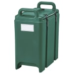 Cambro 350LCD519 3-3/8-gal Camtainer Soup Carrier - Insulated, Green