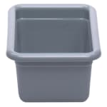 "Cambro 912CBP180 Utility Box - 9 1/16x12 1/16x5 1/8"" Hi-Gloss Plastic, Light Gray"
