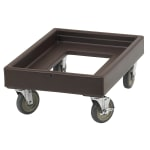 Cambro CD100131 Camdolly® for Camtainers® w/ 300 lb Capacity, Dark Brown