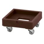 Cambro CD1313131 Camdolly® for Milk Crates w/ 250 lb Capacity, Dark Brown