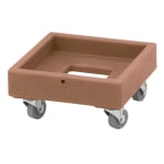 Cambro CD1313157 Camdolly® for Milk Crates w/ 250 lb Capacity, Coffee Beige