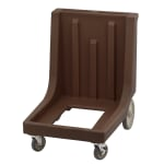 Cambro CD1826MTCHB131 Camdolly® for Camcarrier® 1826MTC w/ 350-lb Capacity, Dark Brown