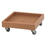 Cambro CD2020157 Camdolly® for Camracks® Dish Racks w/ 300-lb Capacity, Coffee Beige