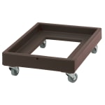 Cambro CD2028131 Camdolly® for Milk Crates w/ 350 lb Capacity, Dark Brown