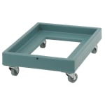 Cambro CD2028401 Camdolly® for Milk Crates w/ 350 lb Capacity, Slate Blue