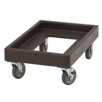 Cambro CD300131 Camdolly® for Camcarriers® w/ 350 lb Capacity, Dark Brown