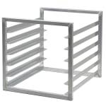 "Cambro CSTSR000 Camshelving Tray Slide Rack - 20 3/8x23x20"" Aluminum"