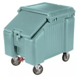 "Cambro ICS100L401 100 lb Ice Caddy - Sliding, Slant Top, 28.75"" H"