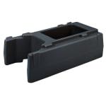 "Cambro R500LCD110 Camtainer Riser - 16 1/2x9x4 1/2"" Black"
