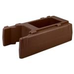 "Cambro R500LCD131 Camtainer Riser - 16-1/2x9x4-1/2"" Dark Brown"