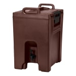 Cambro UC1000131 10-1/2-gal Ultra Camtainer Beverage Carrier - Insulated, Dark Brown