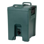 Cambro UC1000192 10-1/2-gal Ultra Camtainer Beverage Carrier - Insulated, Granite Green