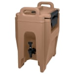 Cambro UC250157 2 3/4 gal Ultra Camtainer Beverage Carrier - Insulated, Coffee Beige