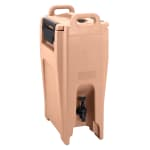 Cambro UC500157 5-1/4-gal Ultra Camtainer Beverage Carrier - Insulated, Coffee Beige