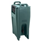 Cambro UC500192 5 1/4 gal Ultra Camtainer Beverage Carrier - Insulated, Granite Green