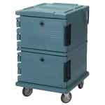 Cambro UPC1200401 90-qt Camcarrier Ultra Pan Carrier - Front Loading, Slate Blue