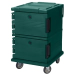 Cambro UPC1200519 90-qt Camcarrier Ultra Pan Carrier - Front Loading, Green
