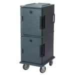 Cambro UPC800191 60-qt Camcart Ultra Pan Carrier - Front Loading, Granite Gray
