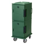 Cambro UPC800519 60 qt Camcart Ultra Pan Carrier - Front Loading, Green