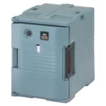 Cambro UPCH400401 Camcarrier Hot Ultra Pancarrier - Front Loading, Slate Blue 110v