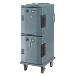 Cambro UPCH800401 Camcart Hot Ultra Pancarrier - Front Loading, Slate Blue 110v