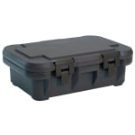Cambro UPCS140110 12 qt S-Series Pancarrier - Top Loading, Black