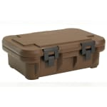 Cambro UPCS140131 12 qt S-Series Pancarrier - Top Loading, Dark Brown