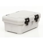 Cambro UPCS160480 20-qt S-Series Pancarrier - Top Loading, Speckled Gray