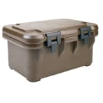 Cambro UPCS180131 S-Series Ultra Pan Carriers® Insulated Food Carrier - 24.5 qt w/ (1) Pan Capacity, Brown