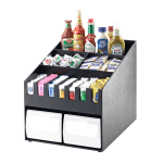 Cal-Mil 2044 Classic Condiment Organizer - 15 7/8x19 1/4x16 3/4